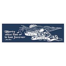 Adams Quote - Liberty Bumper Sticker