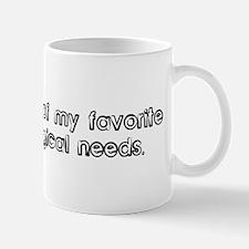 Eating is one of my favorite  Mug