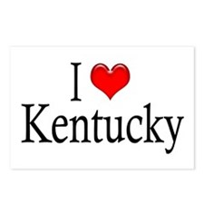 I Heart Kentucky Postcards (Package of 8)