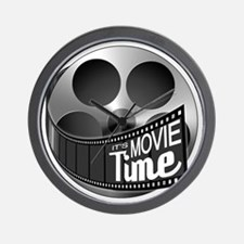 Funny Movie time Wall Clock