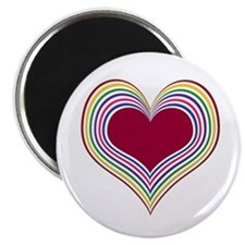 Colorful Heart Magnet
