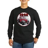 1940 ford pickup truck Long Sleeve Dark T-Shirts