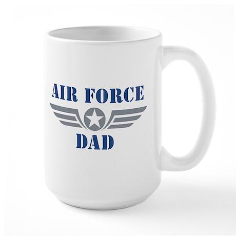 Air Force Dad Large Mug