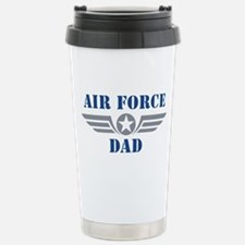 Air Force Dad Stainless Steel Travel Mug