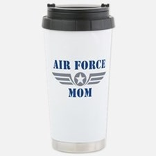 Air Force Mom Stainless Steel Travel Mug