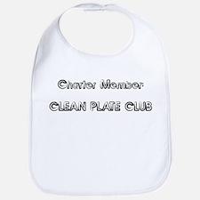 Charter Member: CLEAN PLATE C Bib