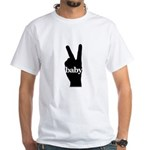 Peace Baby Gear White T-Shirt