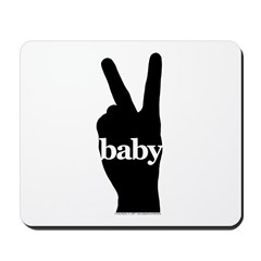Peace Baby Gear Mousepad
