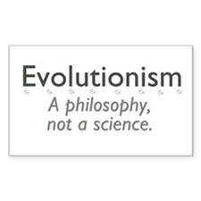 Evolutionism Decal