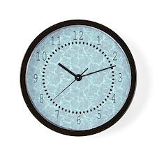 Blue Water Look Wall Clock