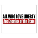 All Who Love Liberty Small Poster