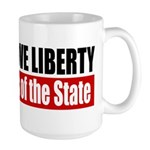 All Who Love Liberty Large Mug