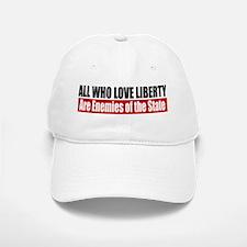 All Who Love Liberty Baseball Baseball Cap