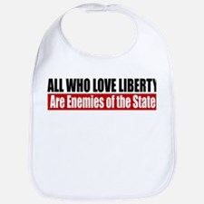 All Who Love Liberty Bib