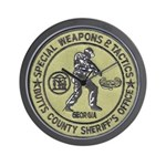 Butts County SWAT Wall Clock