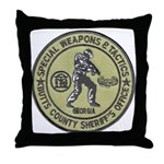 Butts County SWAT Throw Pillow