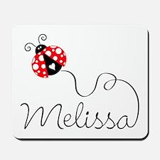 Ladybug Melissa Mousepad