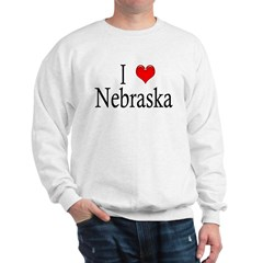 I Heart Nebraska Sweatshirt