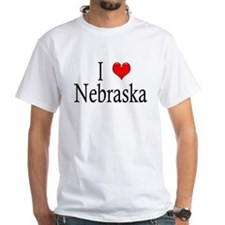 I Heart Nebraska Shirt