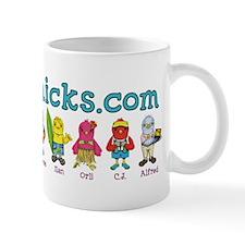 Tropichicks Cast of Characters Mug