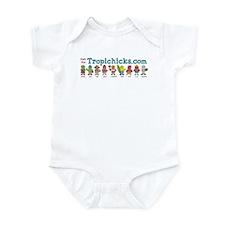 Tropichicks Cast of Characters Infant Bodysuit