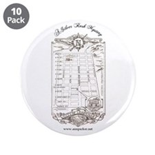 "Silver Rush Mystery 3.5"" Button (10 pack)"