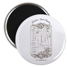 """Silver Rush Mystery 2.25"""" Magnet (10 pack)"""