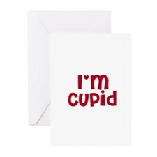 I'm Cupid Greeting Cards (Pk of 10)