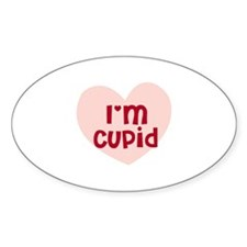 I'm Cupid Oval Decal