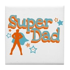 Super Dad Tile Coaster