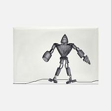 Drillbot Rectangle Magnet