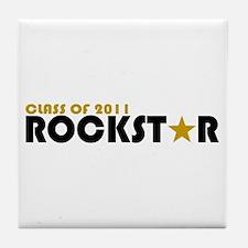 Class of 2011 Rockstar Tile Coaster