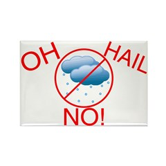 Oh Hail No Rectangle Magnet (10 pack)