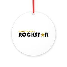 Class of 2013 Rockstar Ornament (Round)