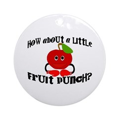 Fruit Punch Ornament (Round)
