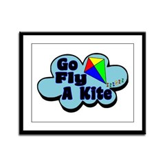 Go Fly A Kite Framed Panel Print