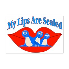 My Lips Are Sealed Posters