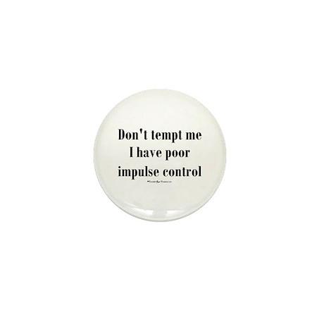 Temptation Mini Button