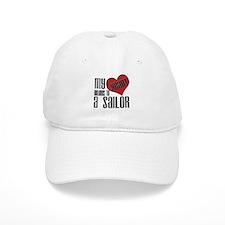 Heart Belongs Sailor Baseball Cap