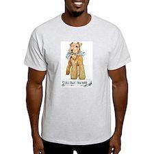 Lakeland Terrier Ash Grey T-Shirt