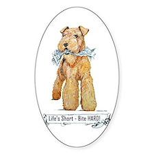 Lakeland Terrier Oval Decal