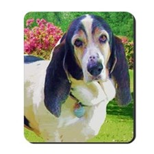 Goofy the Basset Hound Mousepad