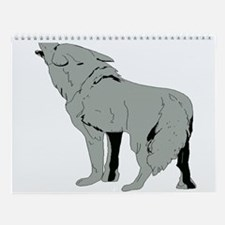 WOLF Wall Calendar