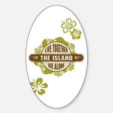 LOST - The Island Hibiscus Decal