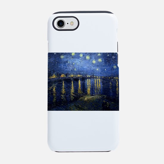 Van Gogh: Starry Night Over th iPhone 7 Tough Case