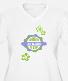 LOST - The Island Hibiscus blue T-Shirt