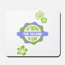 LOST - The Island Hibiscus blue Mousepad