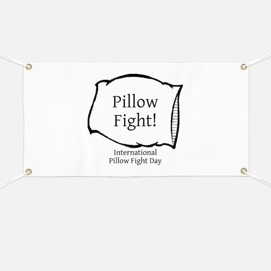 International Pillow Fight Day Banner