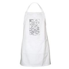 The Rose and Star BBQ Apron