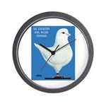 White King Pigeon Wall Clock